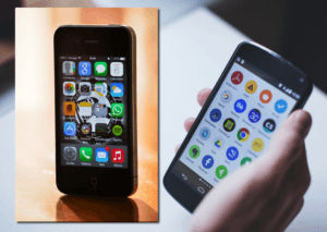Comparing iPhone vs Android