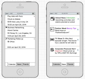 Mobile app development examples