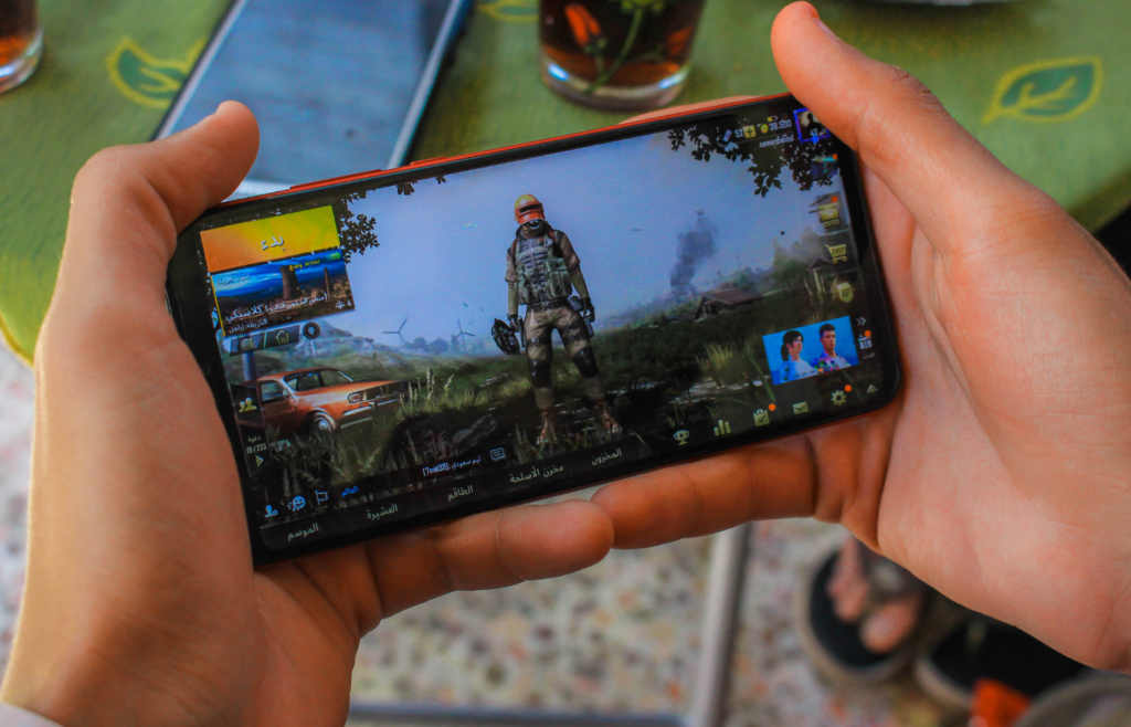 mobile gaming app